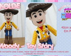Molde do Woody - Toy Story