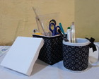 Kit caneca decorativo