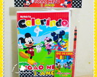 Kit Colorir + Lápis Mickey Mouse