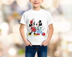 Camiseta Mickey e Minnie