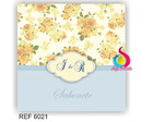 Kit Toilete Floral 6021
