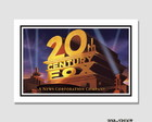 Quadro 60x40cm Cinema 20th Century Fox