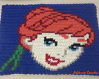 Tapete Croche Anna Frozen