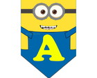 Arte Digital Bandeirola Minion