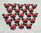 aplique minnie e mickey(10 unidades)
