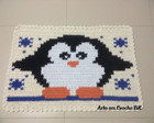 Tapete Croche Pinguim