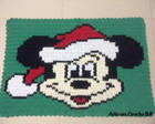 Tapete Croche Mickey Natal
