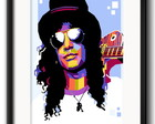 Quadro Slash Pop Art com Paspatur