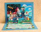 Convite Super Mario mini pop-up