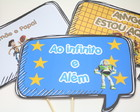 Placa Divertida - Toy Story