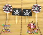 Toppers - Tags Piratas