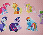 Apliques My Little Pony