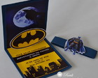 Convite Personalizado Batman Pop up