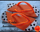 Havaianas Top customizadas com strass
