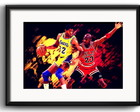 Quadro Jordan vs Magic com Paspatur