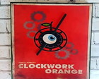 "Relógio ""Clockwork Orange"""