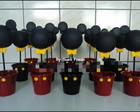 Enfeite de mesa turma do Mickey e Minnie