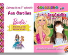 Revista Barbie Escola de Princesas