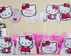 Kit Forminha + Topper - Hello Kitty