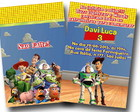 Revista colorir Convite Toy Story 14x10