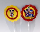 Toppers para doces personalizados Mickey