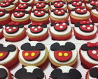 Mini Cupcake Minnie e Mikey