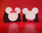 Mickey e Minnie - Forminhas de Papel