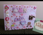 MINI ÁLBUM BABY GIRL Scrapbook