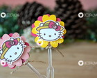 Topper - Hello Kitty Fazendeira