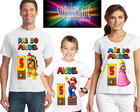 Kit 3 Camisetas Super Mario Bros A1