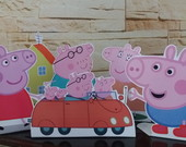 display de peppa pig