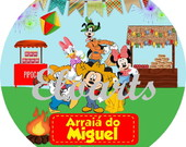 ARRAIÁ DO MICKEY E MINNIE