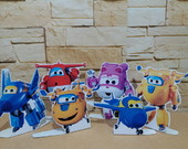 display de super wings