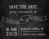 Save the Date | Casamento