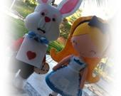 Enfeites para festa Alice
