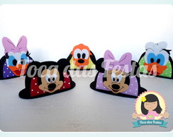 Porta guardanapos Turma do Mickey