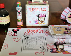 Kit festa na escola minnie