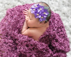 HEAD BAND violeta