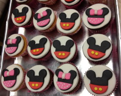 Cupcake Minnie e Mickey