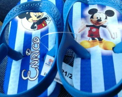 Chinelo do Mickey - Listrado