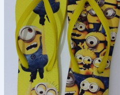 Chinelo dos Minnions Amarelo