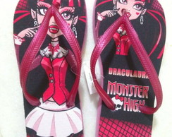 Chinelo da Monster High - Draculaura