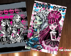 Capa caderno Monster High