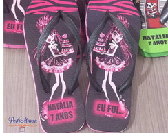 Chinelo Monster High Mod 2