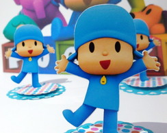 Pocoyo aplique latinha mint to be
