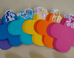 Forminha com Aplique My Little Pony
