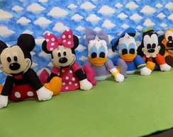turma do Mickey de feltro