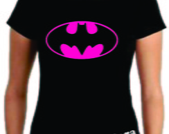 Camiseta do batman (batgirl)