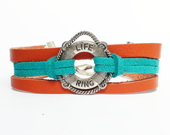 Pulseira Masculina Life Ring Tropical