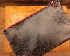 Clutch Spiaggia Animal Print